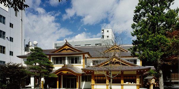 四柱神社 参集殿 新築 【神社・仏閣】