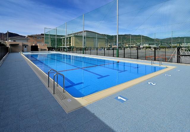 長野ろう学校 プール