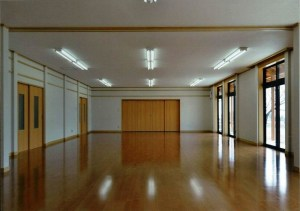 下竹田防災拠点施設 研修室1