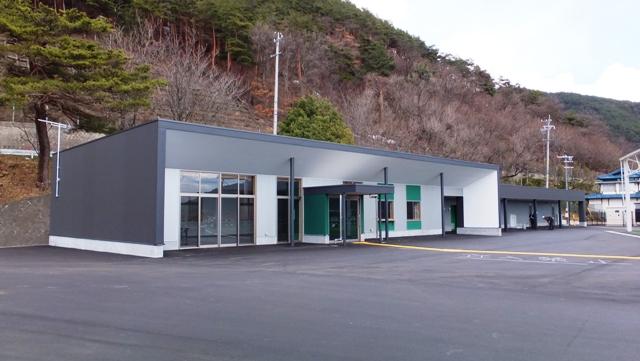 松本市 かりがねサッカー場管理棟 竣工 【公共施設】