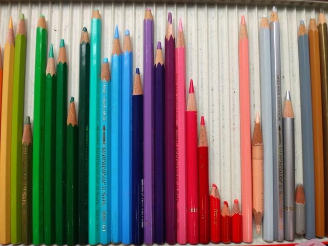 伊藤設計の色鉛筆