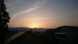 夕焼け150527-1