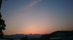 夕焼け150527-3
