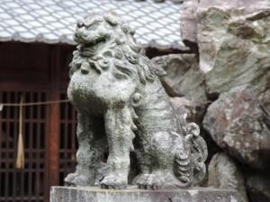 間々部諏訪神社-1 阿形