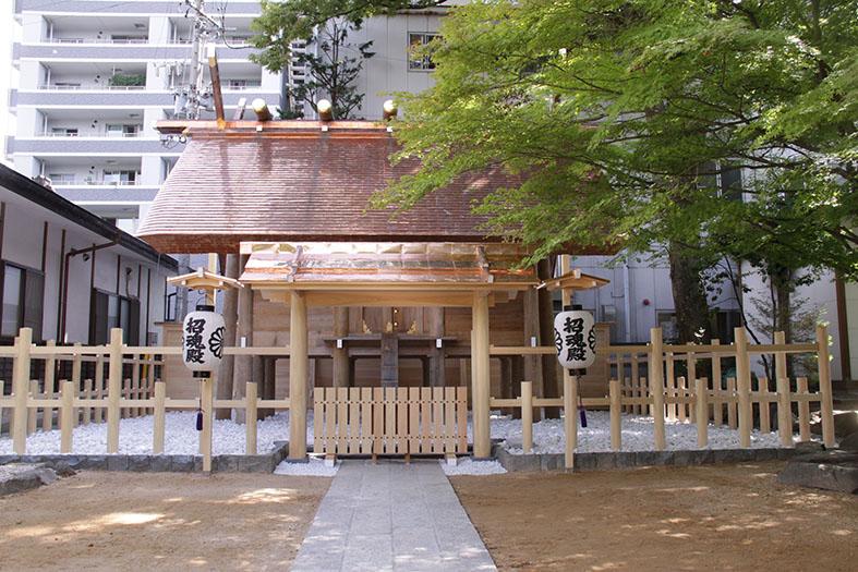 四柱神社 松本市招魂殿