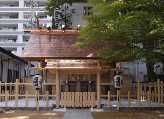 四柱神社 松本市招魂殿 【宗教施設】