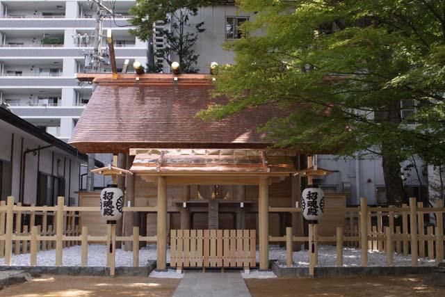 四柱神社 招魂殿