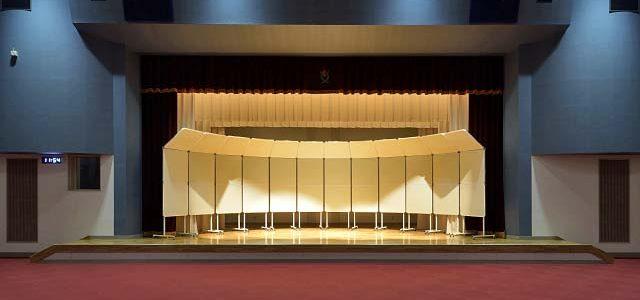 三郷公民館・保健センター改修、講堂音響改修工事 【文化施設】