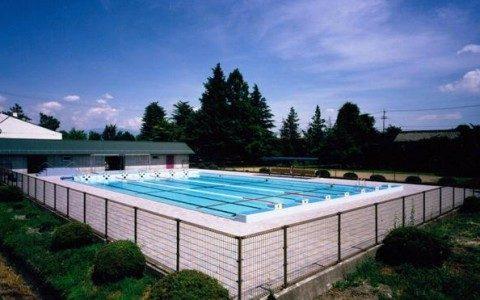 梓川中学校プール 【体育施設】