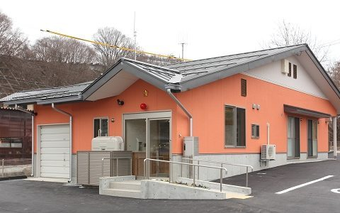 松本警察署 四賀駐在所 竣工【公共施設】