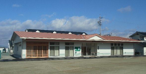 島高松町会公民館 竣工