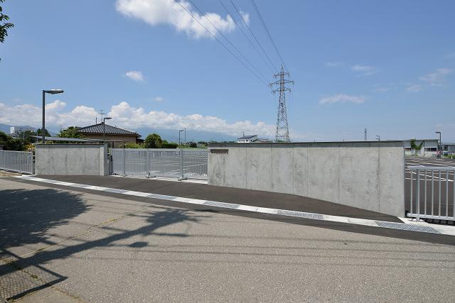 松本短期大学 駐車場整備工事