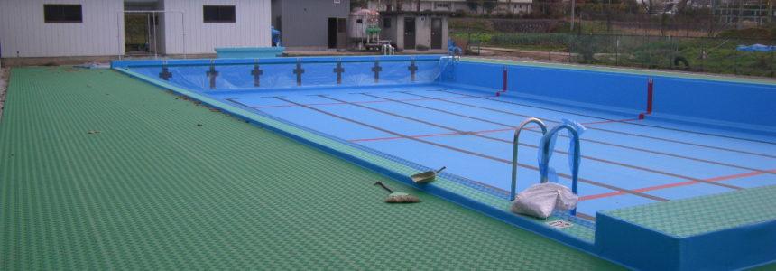 筑北村 聖南中学校プール 改修 【改修施設】
