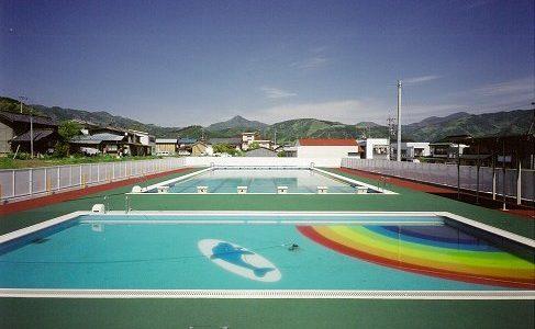 麻績小学校 プール 【体育施設】