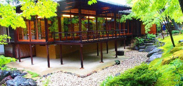 「八勝館」と「爲三郎記念館」