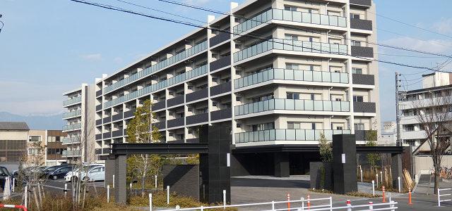 サーパスシティ南松本駅前ノースガーデン 竣工