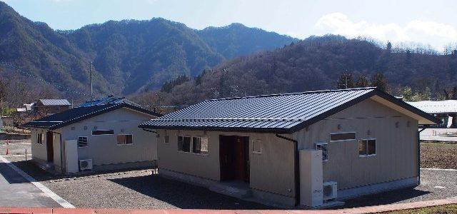 生坂村 若者定住促進住宅 新築【住宅施設】