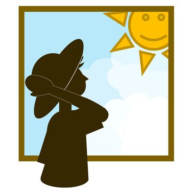 紫外線予防をお忘れなく!