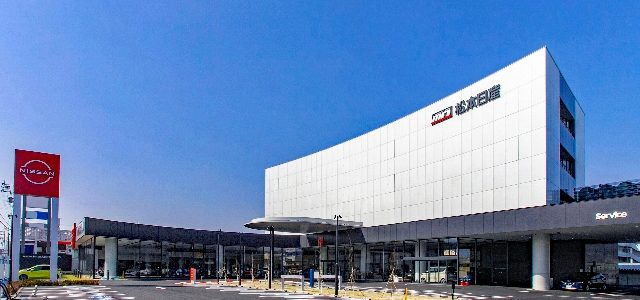 松本日産自動車㈱ 本社ビル 竣工